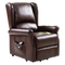 Brown Electric Lift Chair Recliner with Remote Control