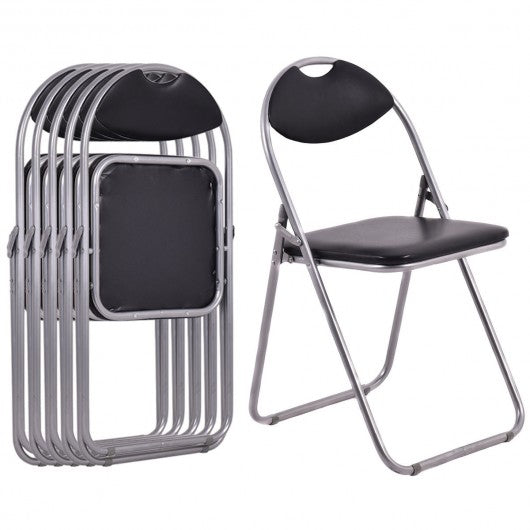 6-piece U-Shape Folding Chairs