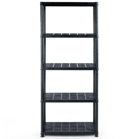 5-Tier Storage Shelving Freestanding Heavy Duty Rack