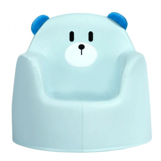 Bear Kid's Toddler Sofa Seat-Blue