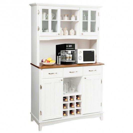 Buffet And Hutch Kitchen Storage Cabinet