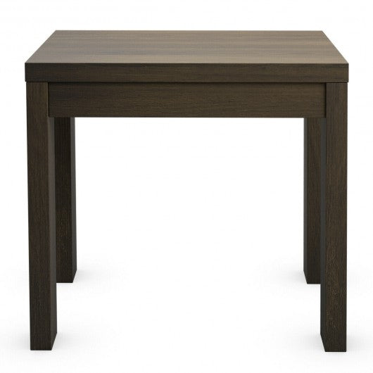 European Style Coffee Table for Living Room & Bedroom-Walnut