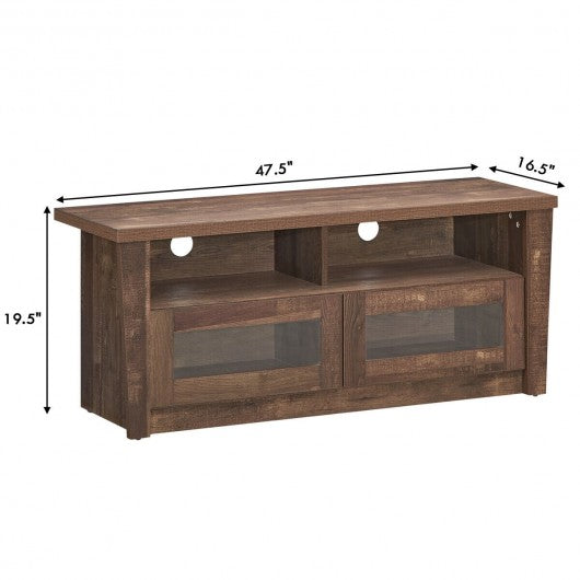 TV Stand Entertainment Center Hold up with 2 Shelves