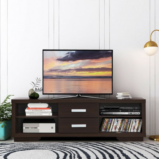 "TV Stand Entertainment Center Hold up to 65"" TV"