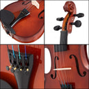 Full Size 4-4 Solid Wood Student Starter Violin