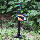 Solar Powered Motion-Activated Animal Repeller