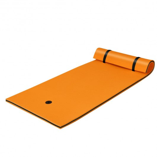 3-Layer Relaxing Tear-proof Water Mat-Orange