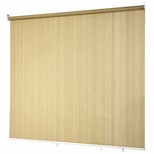 6' x 6' Roller Light Filtering Protection Window Shade Blind-Beige