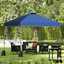 10'x10' Outdoor Commercial Pop up Canopy Tent-Blue