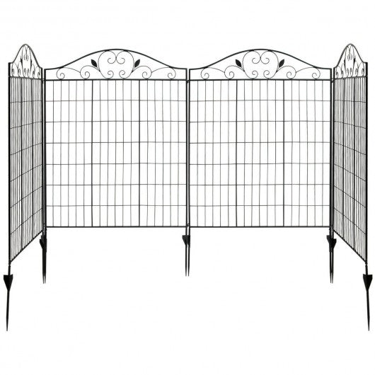 56in x 12Ft Folding Decorative Garden Fence