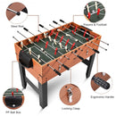 "48"" 3-in-1 Multi Combo Football Billiards Pool Hockey Game Table"