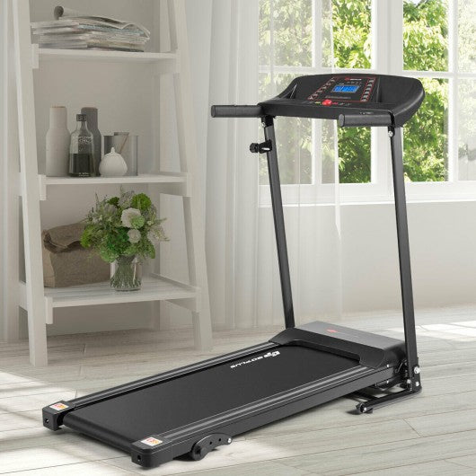 1.0HP Folding Treadmill Electric Support Motorized Power