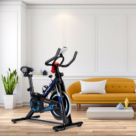 LCD Display Fitness Cardio Workout Cycling Exercise Bike