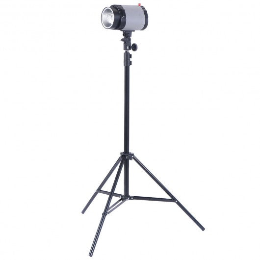 2 x 160W Flash Lamp Holder Set with Light Stand