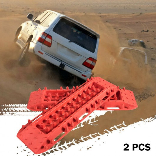 Recovery Traction Boards 2 Pcs Off-Road Traction Tracks Mat