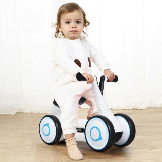 Baby Balance Bike Bicycle Toddler Toys Rides No-Pedal-White