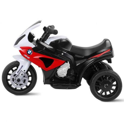 6V Kids 3 Wheels Riding BMW Licensed Electric Motorcycle-Red