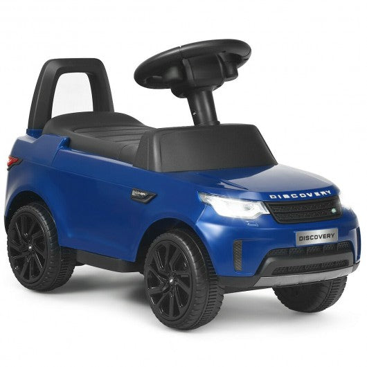 2-in-1 6V Land Rover Licensed Kids Ride On Car-Blue