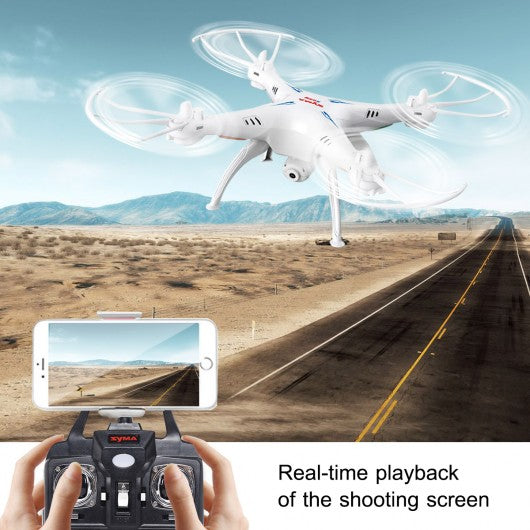 Syma X5SW WIFI FPV 2.4 GHz 4CH 6-Axis RC Quadcopter