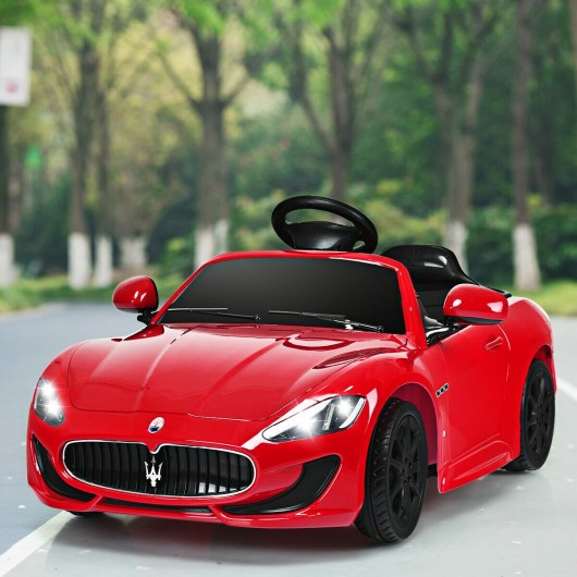 Maserati 12 V Licensed Electric Kids Riding Car
