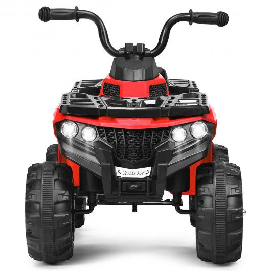 6V Battery Powered Kids Electric Ride on ATV-Red