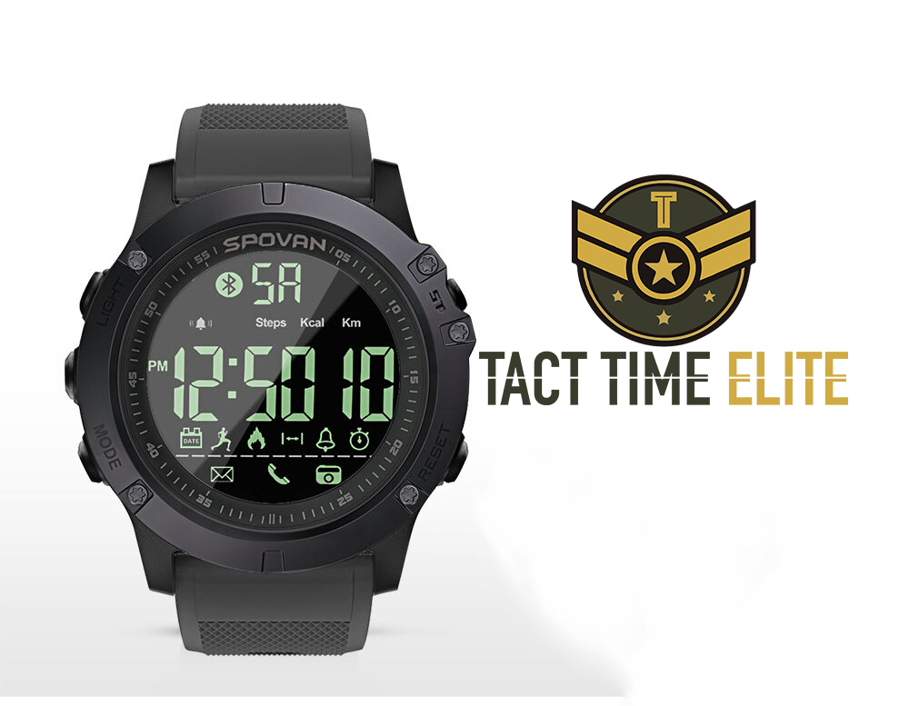 Tact Time Elite SmartWatch For iOS Android Phone