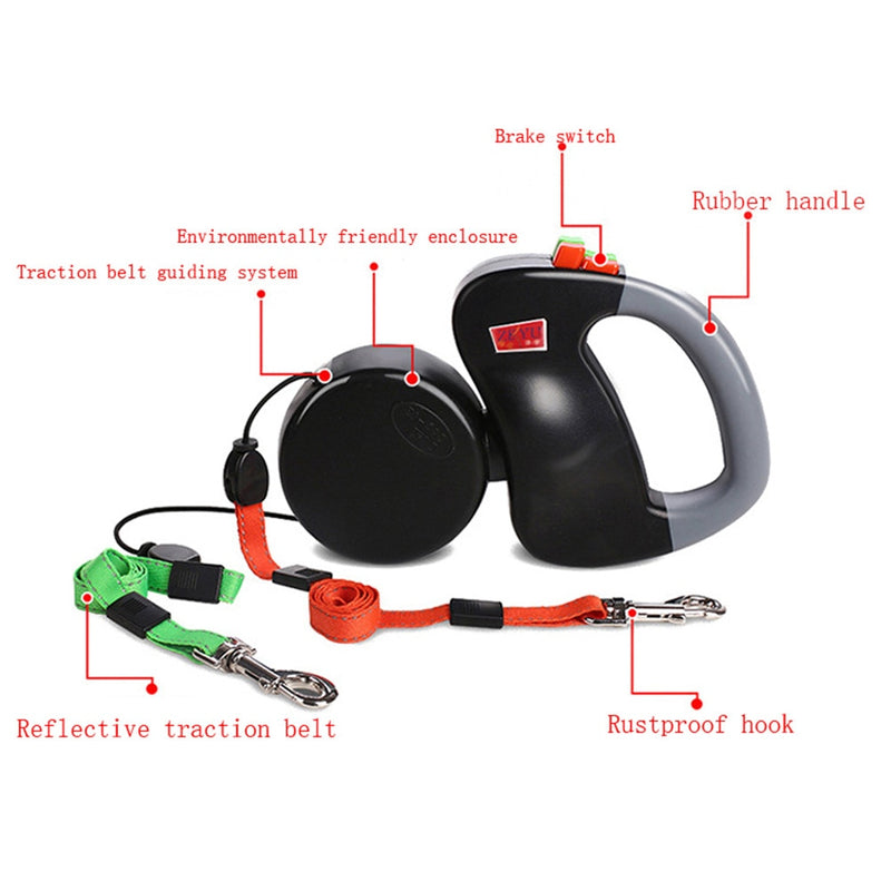 ABS Automatic Dog Leash- Retractable Dog Leash