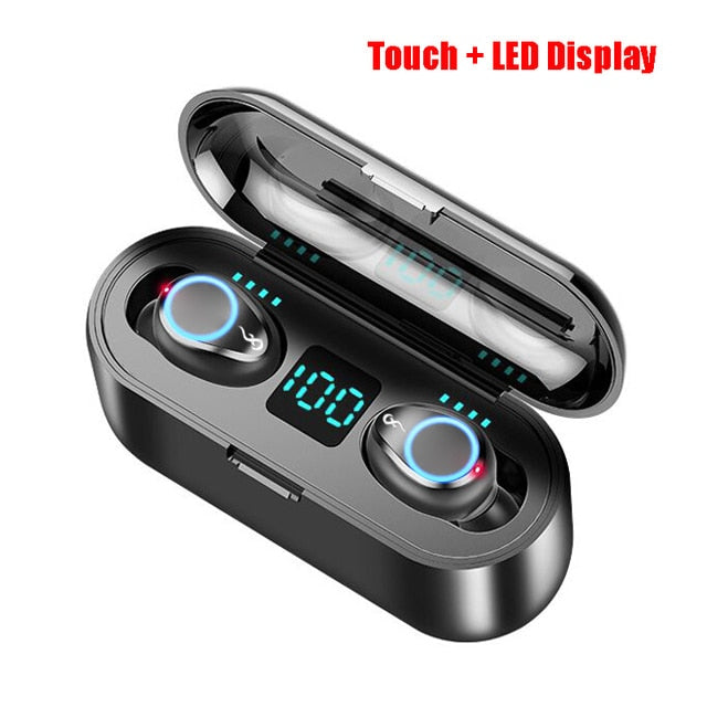 Mini Wireless Earbuds Headset Dual Mic For All Phone