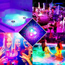 LED Disco party Light Glow Show Swimming Pool Hot Tub Spa Lamp Baby Bath Light. Floating Underwater Light RGB Submersible