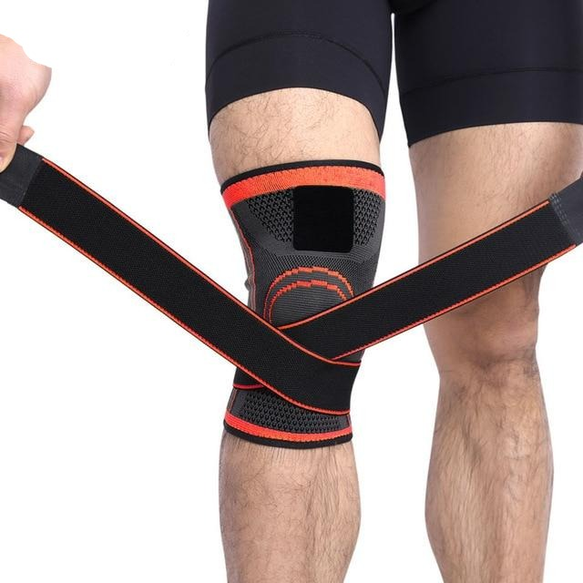 1PCS 2020 Knee Support Professional Protective Sports Knee Pad Breathable Bandage Knee Brace Basketball Tennis Cycling