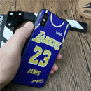 Lakers iPhone Case - LeBron James Lakers Jersey Design