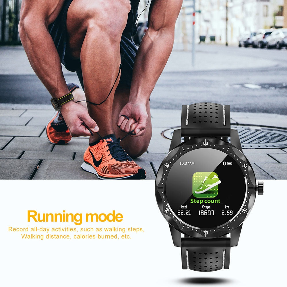 Waterproof Smartwatch Activity Tracker Fitness for android IOS phone