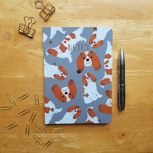 Cavalier King Charles Foiled Notebook