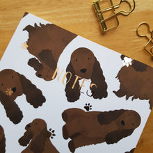 Load image into Gallery viewer, Cocker Spaniel Foiled Notebook