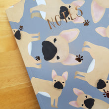 Load image into Gallery viewer, French Bulldog Foiled Notebook