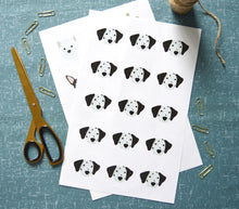 Load image into Gallery viewer, Dalmatian Stickers