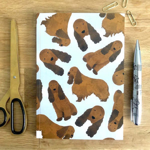 Cocker Spaniel Notebook