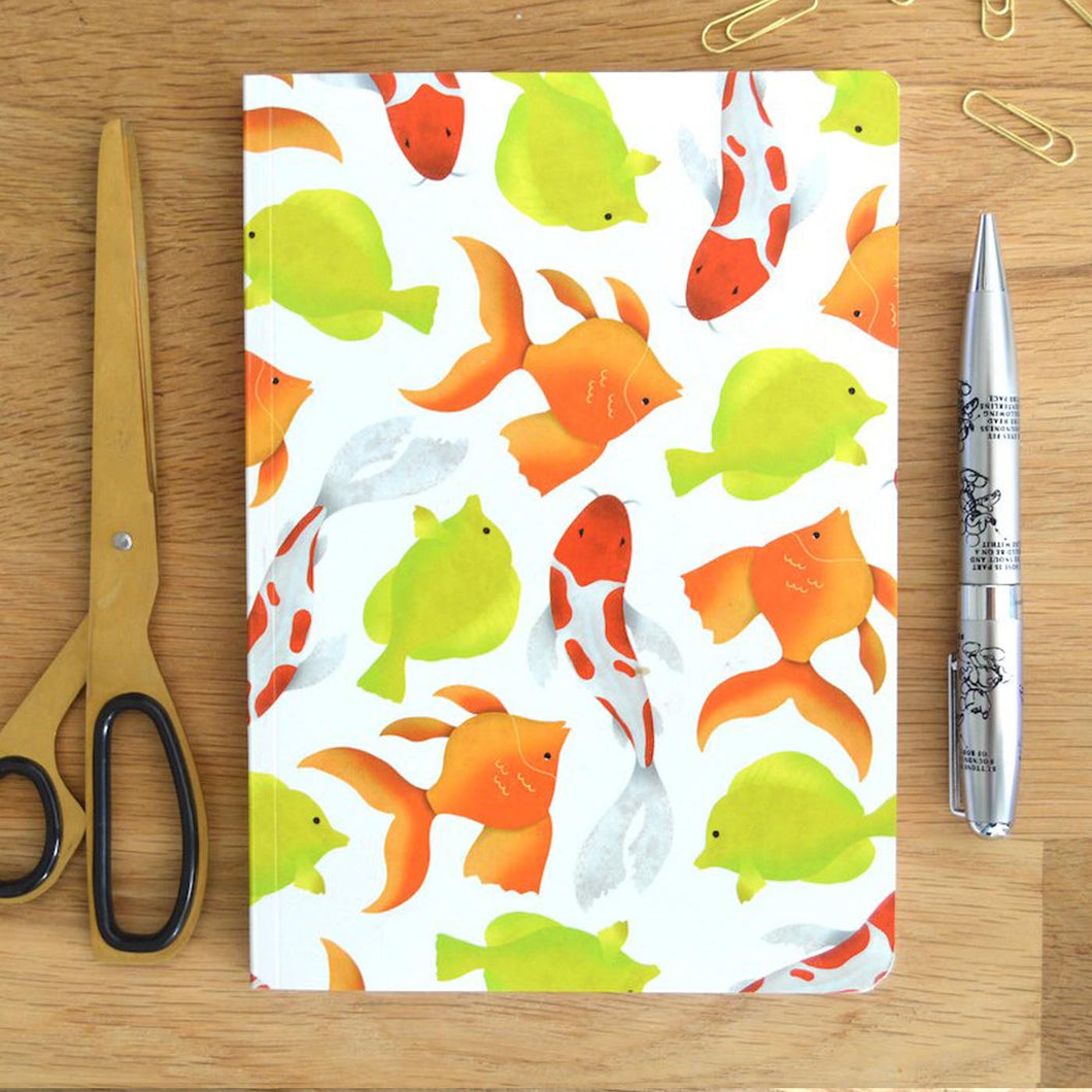 Mixed Fish Notebook