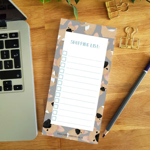 French Bulldog Shopping List Pad