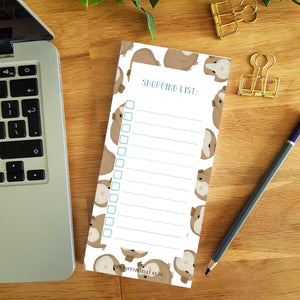 Guinea Pig Shopping List Pad