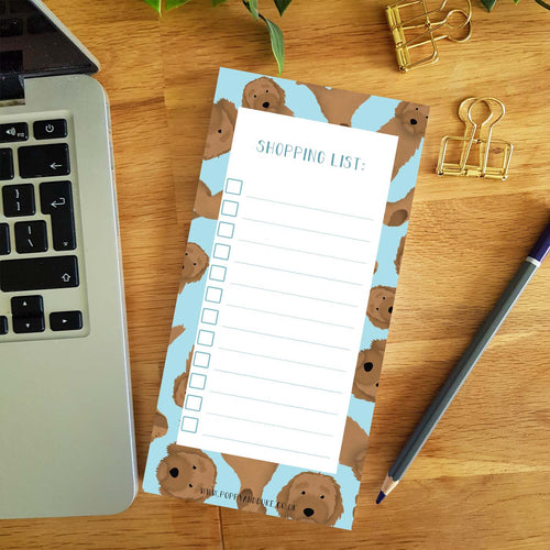 Labradoodle Shopping List Pad