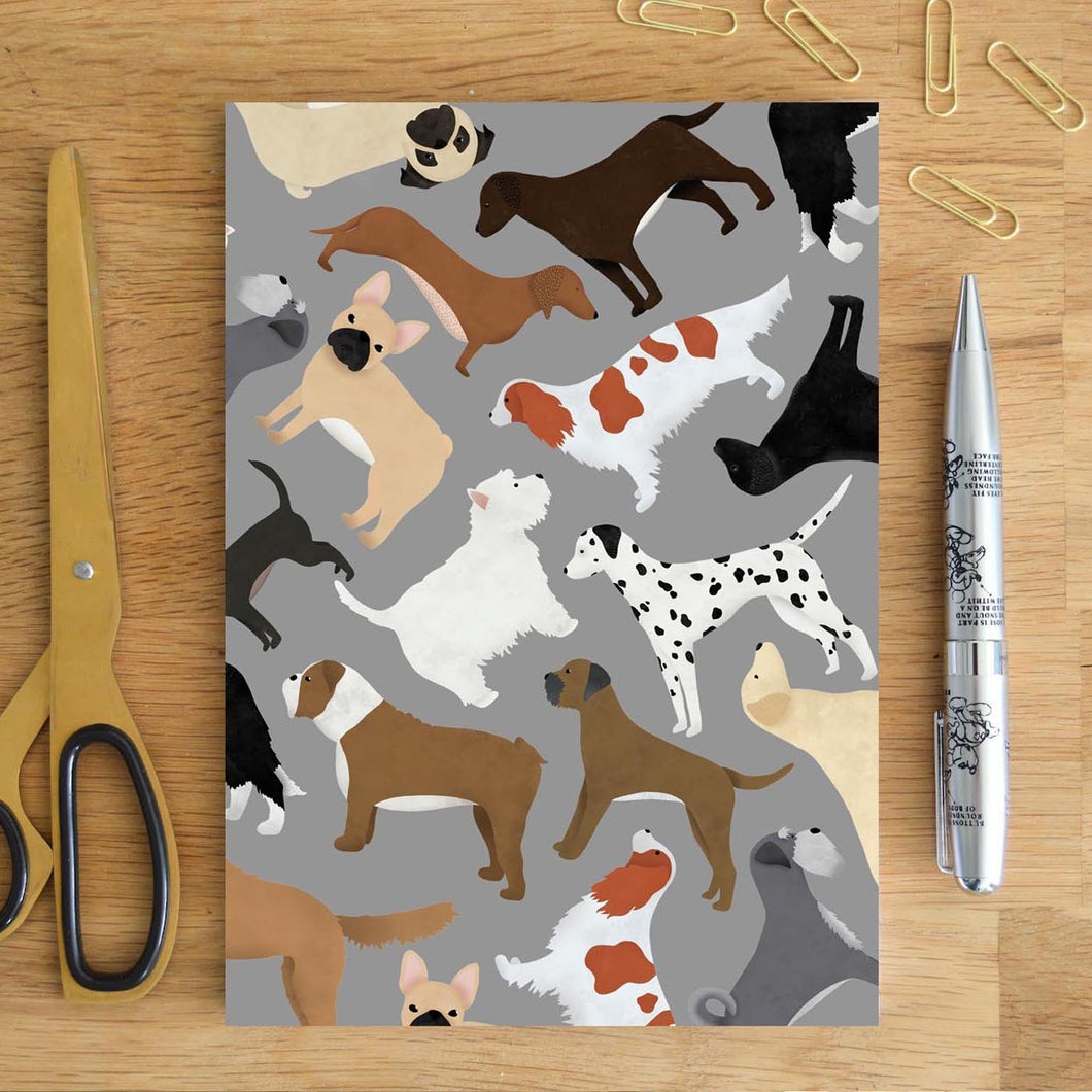 Mixed Dog Notebook