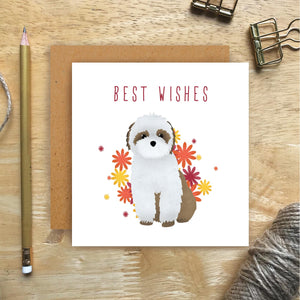 Shih Tzu Best Wishes