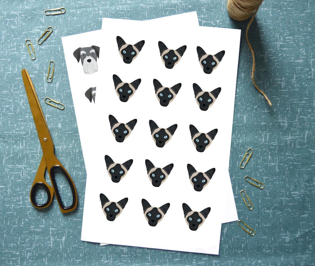 Siamese Stickers