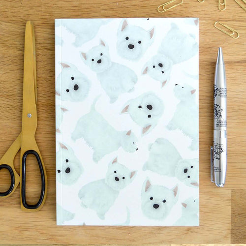 West Highland Terrier Notebook