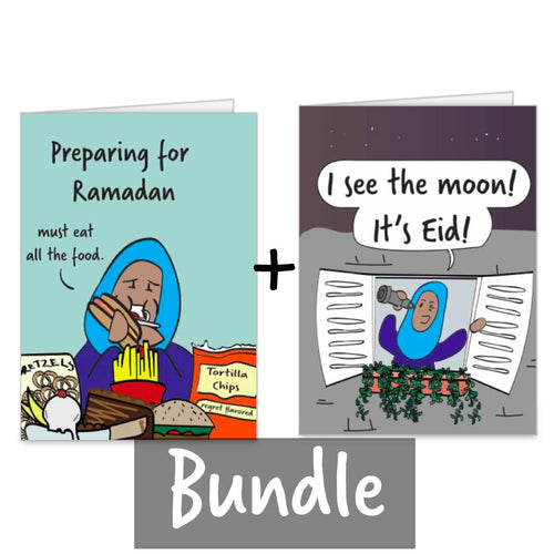 Eid Card & Ramadan Card Bundle