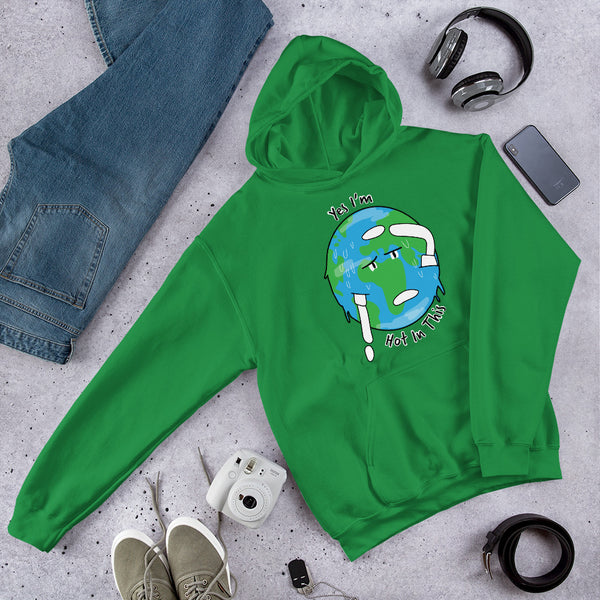 Unisex Earth is Hot in This Hoodie