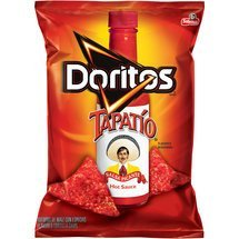 Frito Lay, Doritos® Brand, Tapatio Hot Sauce Flavored Tortilla Chips, 9.75oz Bag (Pack of 3)