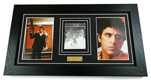 Scarface Al Pacino Prop Cocaine Framed Display by artcandi