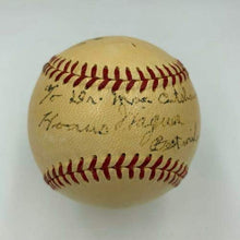 Load image into Gallery viewer, The Finest Ty Cobb & Honus Wagner Dual Signed National League Baseball COA - JSA Certified - Autographed Baseballs